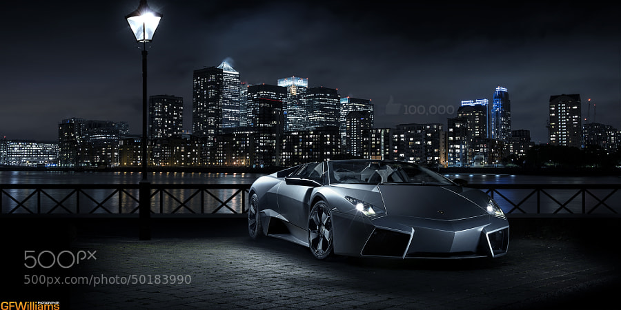 Photograph Lamborghini Reventon in London by George Williams on 500px