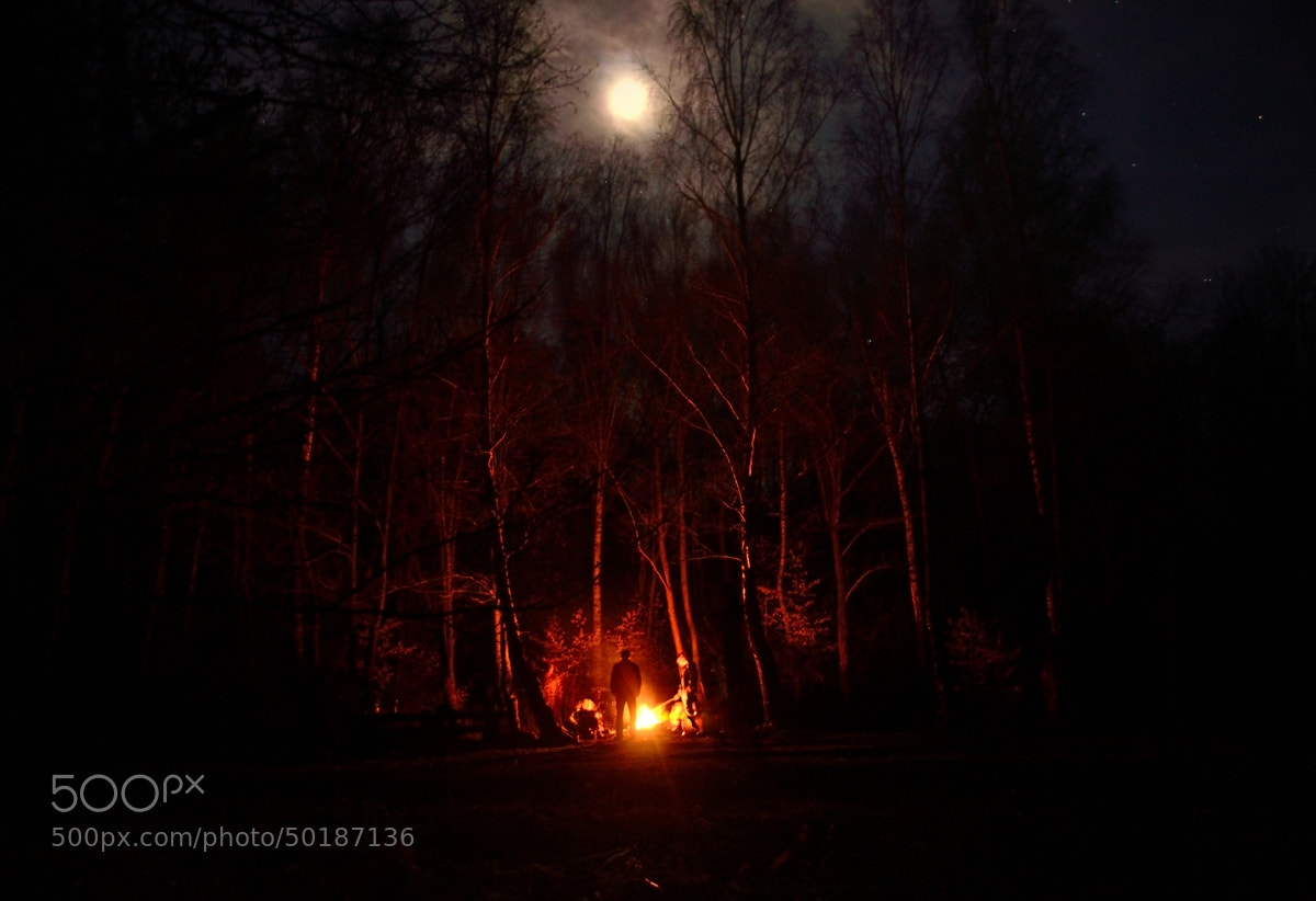 Photograph Roasting in the Moonlight by Peter Kováč on 500px