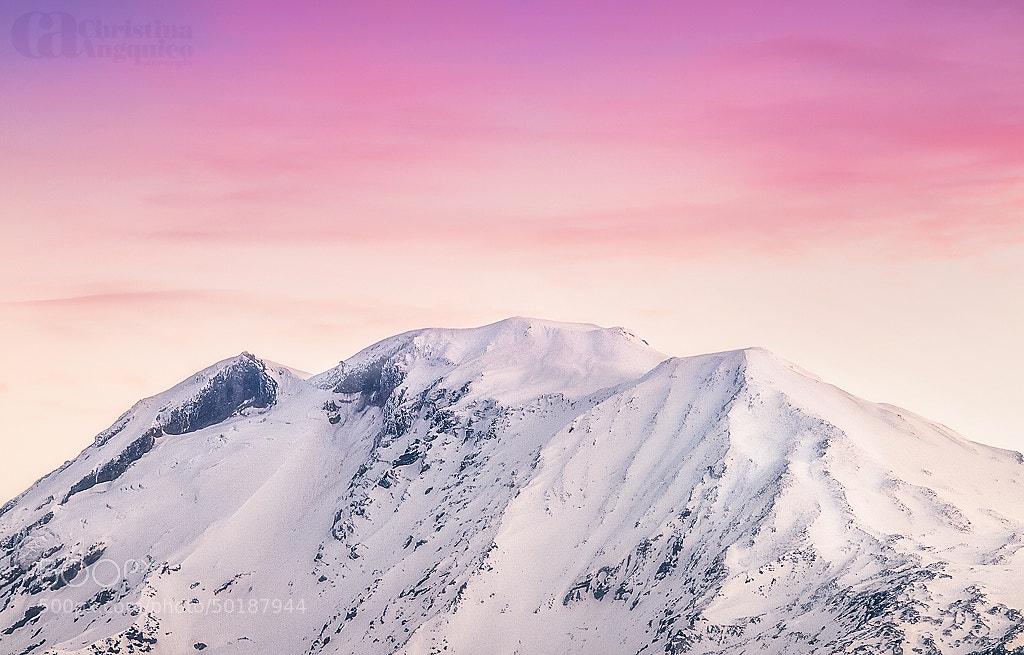 Photograph Pink Pinnacle by Christina Angquico on 500px