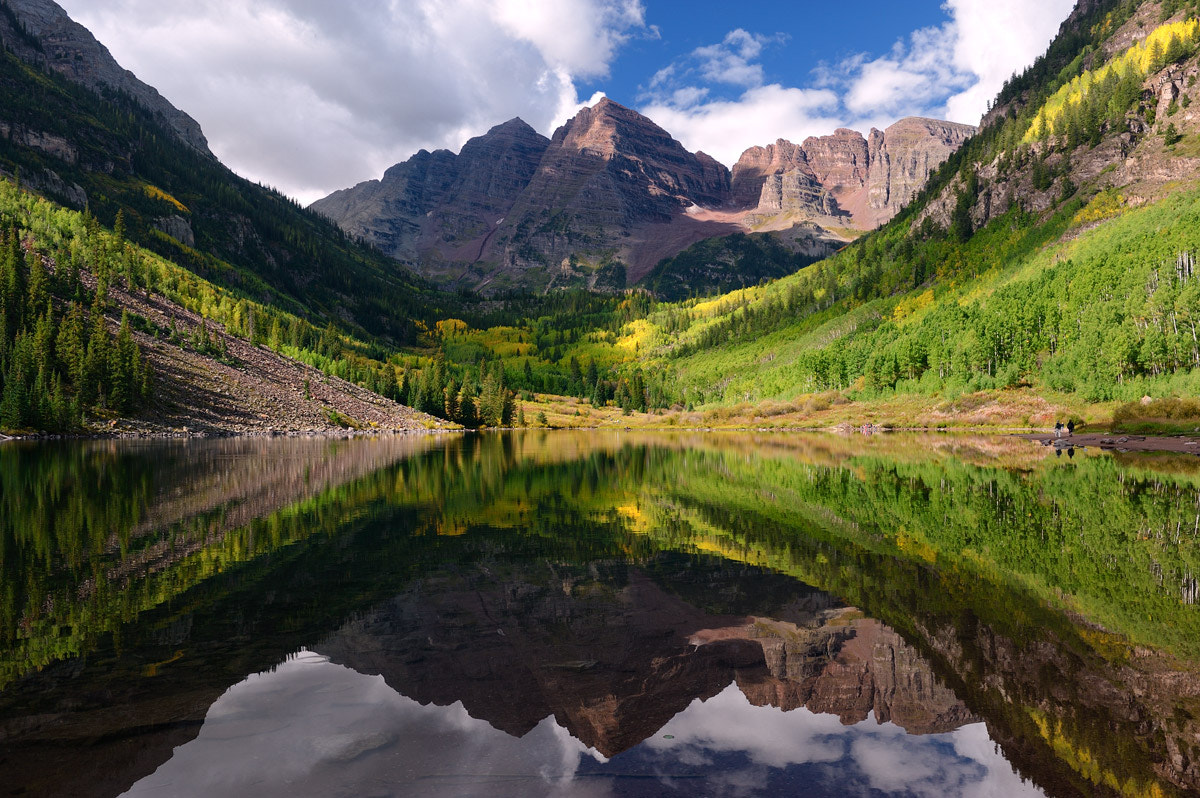 Photograph Maroon Bells by Uwe Logemann on 500px