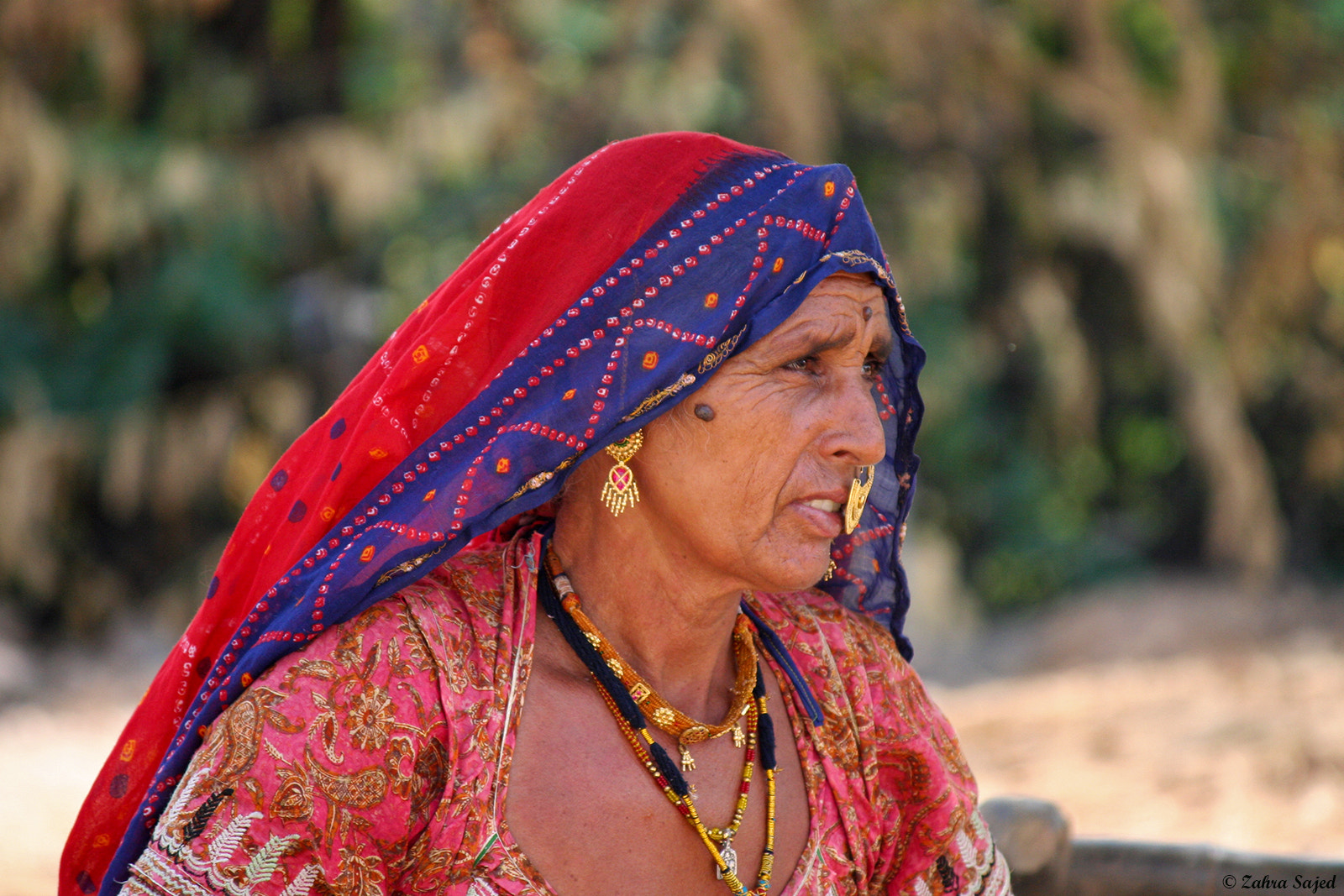 Photograph Rajasthani's woman by zahra sajed on 500px