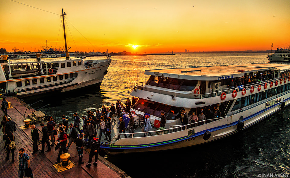 Photograph Ferries by Inan Aksoy on 500px