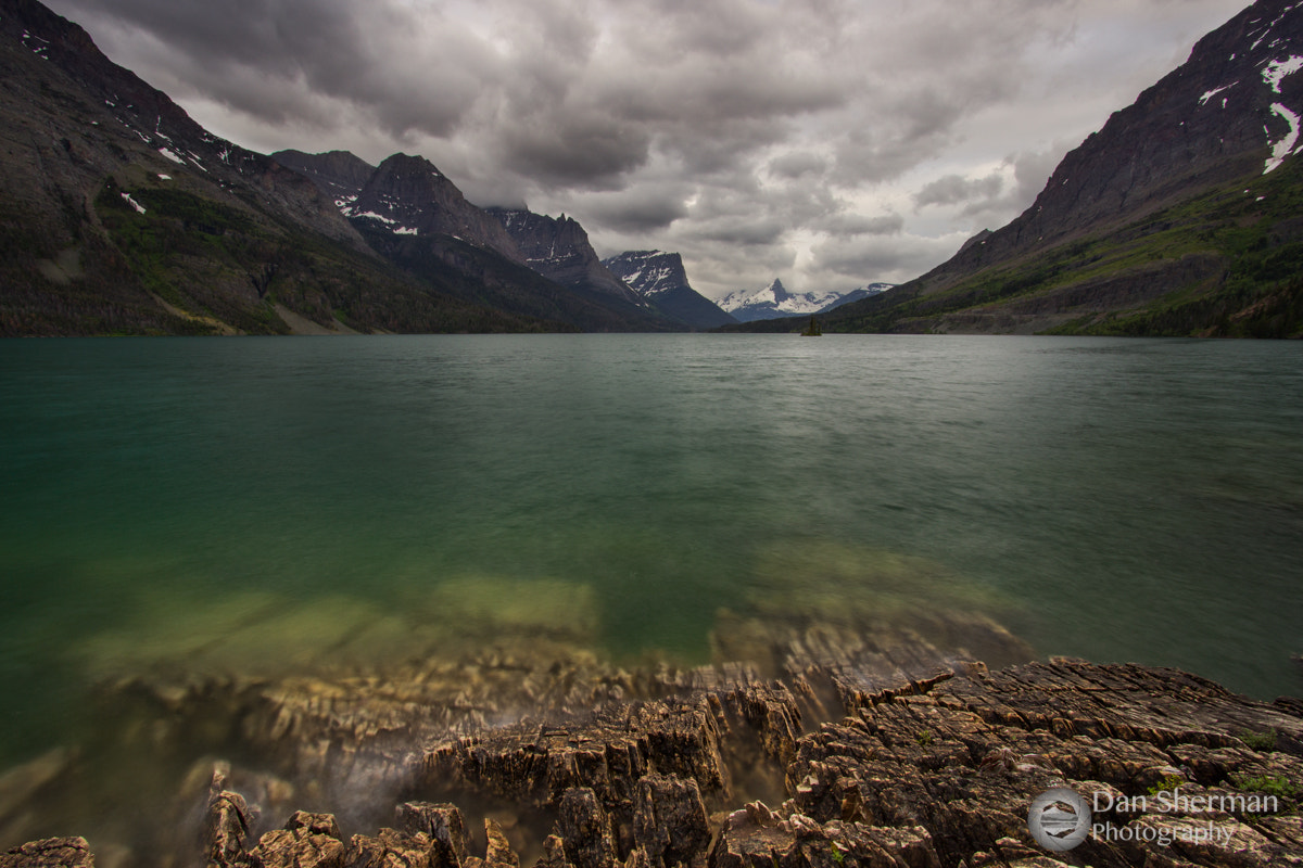 Photograph St Mary Lake by Dan Sherman on 500px