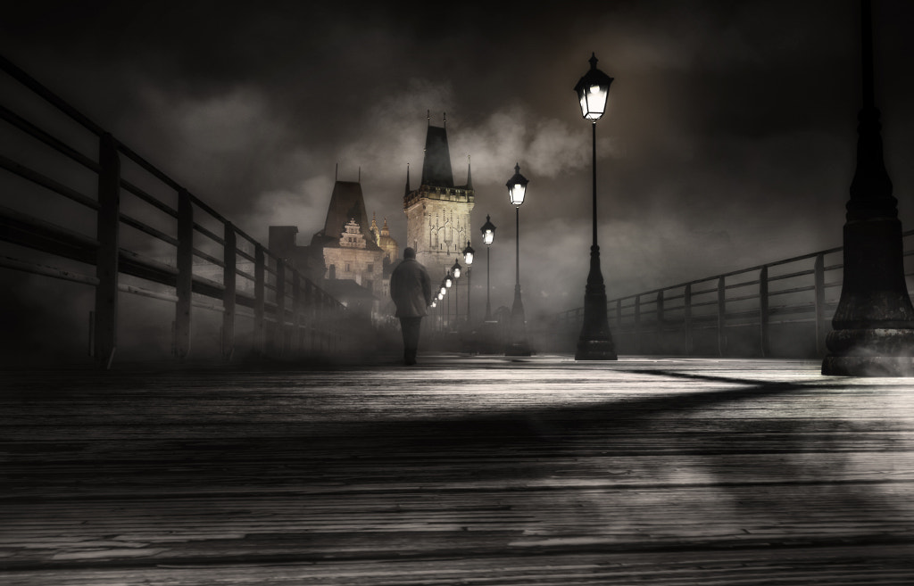 Photograph Walking in the dark by Carles Carreras on 500px