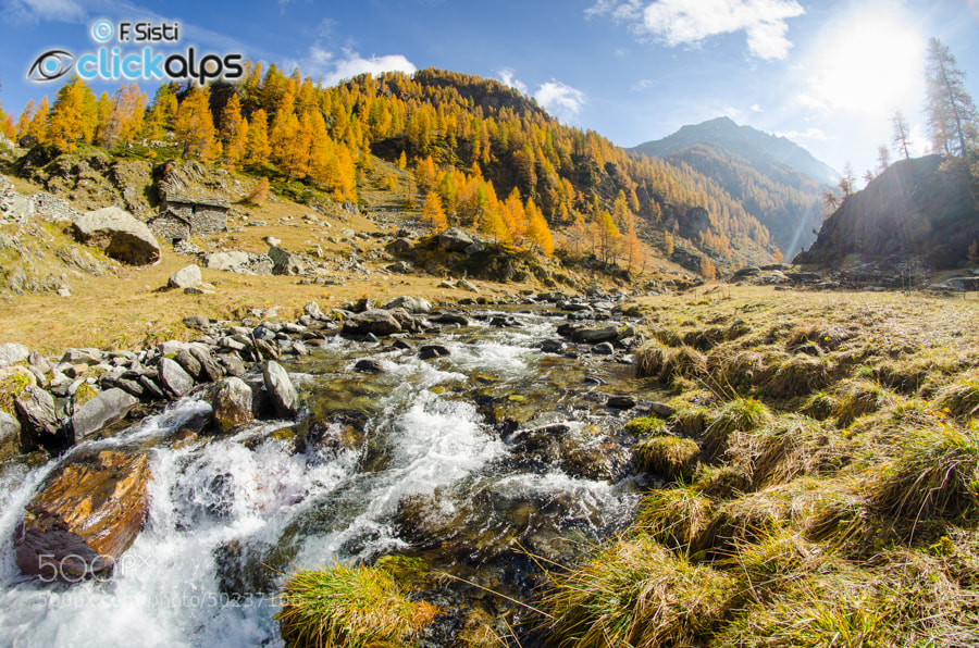 Photograph Acque d'autunno... (Valle di Champorcher, Valle d'Aosta) by Francesco Sisti on 500px