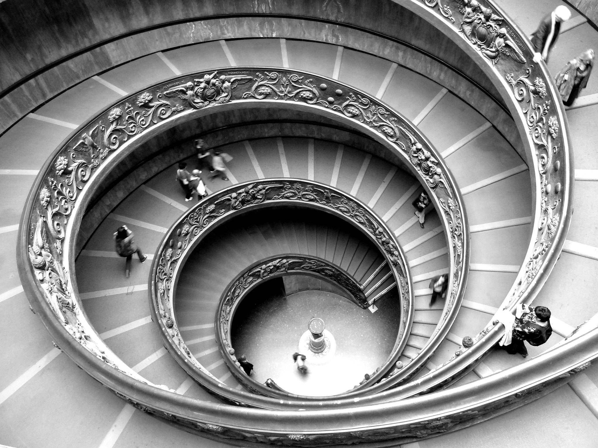 Photograph Roma - Vatican stairs by Florence Guichard on 500px