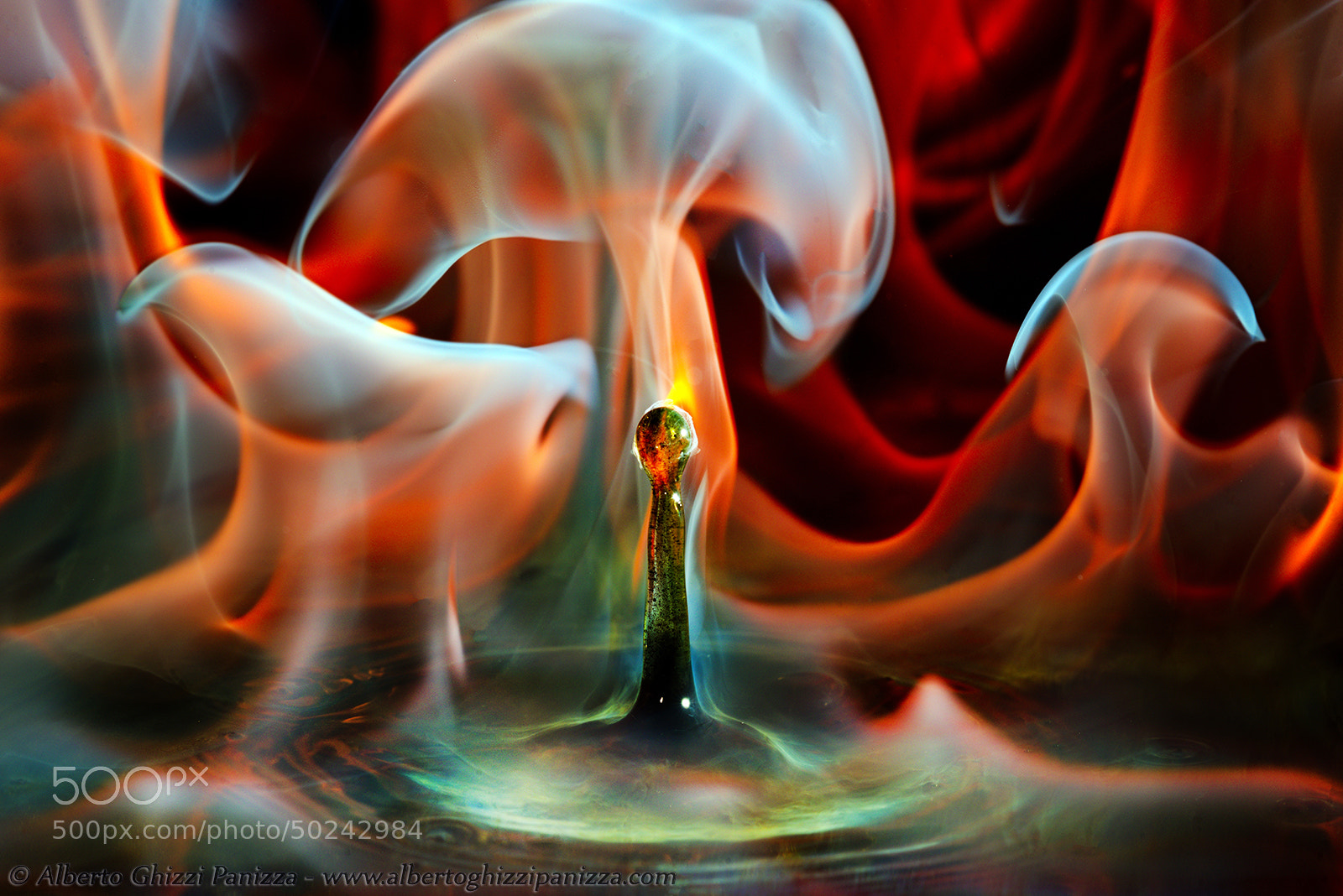 Photograph Burning Drop by Alberto Ghizzi Panizza on 500px