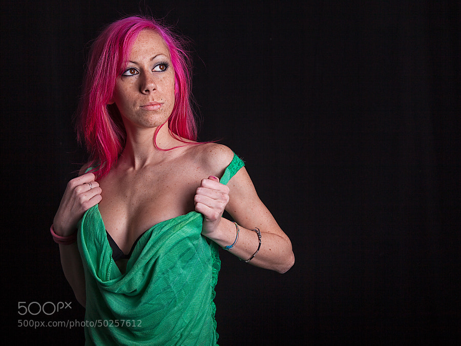 Edith, green and fuxia by Samuele Silva on 500px.com