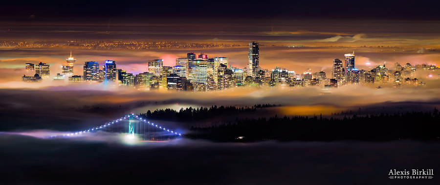 Foggy Night by Alexis Birkill on 500px.com