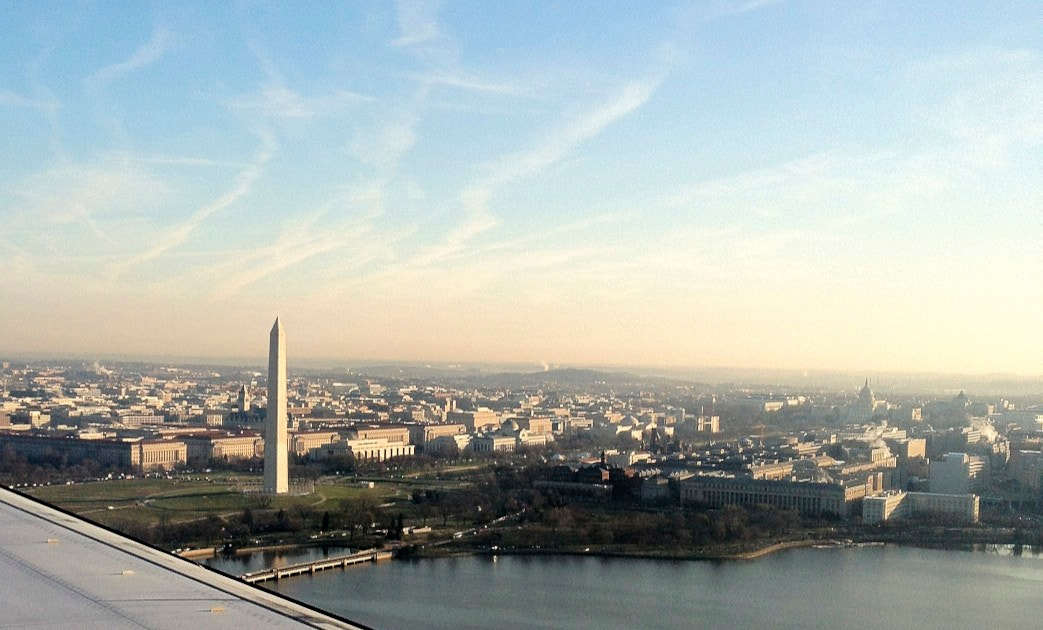 Photograph Flying into Washington D.C. by James Neville on 500px