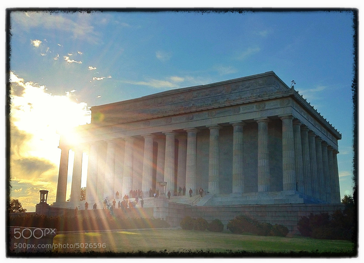 Photograph Lincoln Memorial by James Neville on 500px