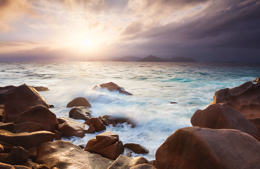 Photograph La Digue rocks by Michael  Breitung on 500px
