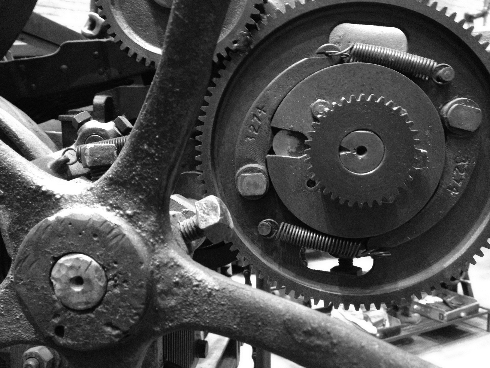 Photograph Gears by James Neville on 500px