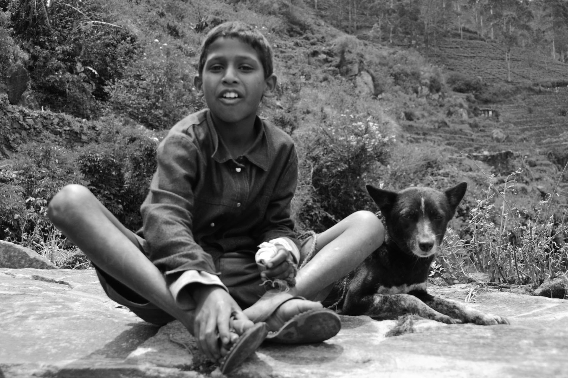 Photograph Boy and his dog (2) by Eric ABGRALL on 500px
