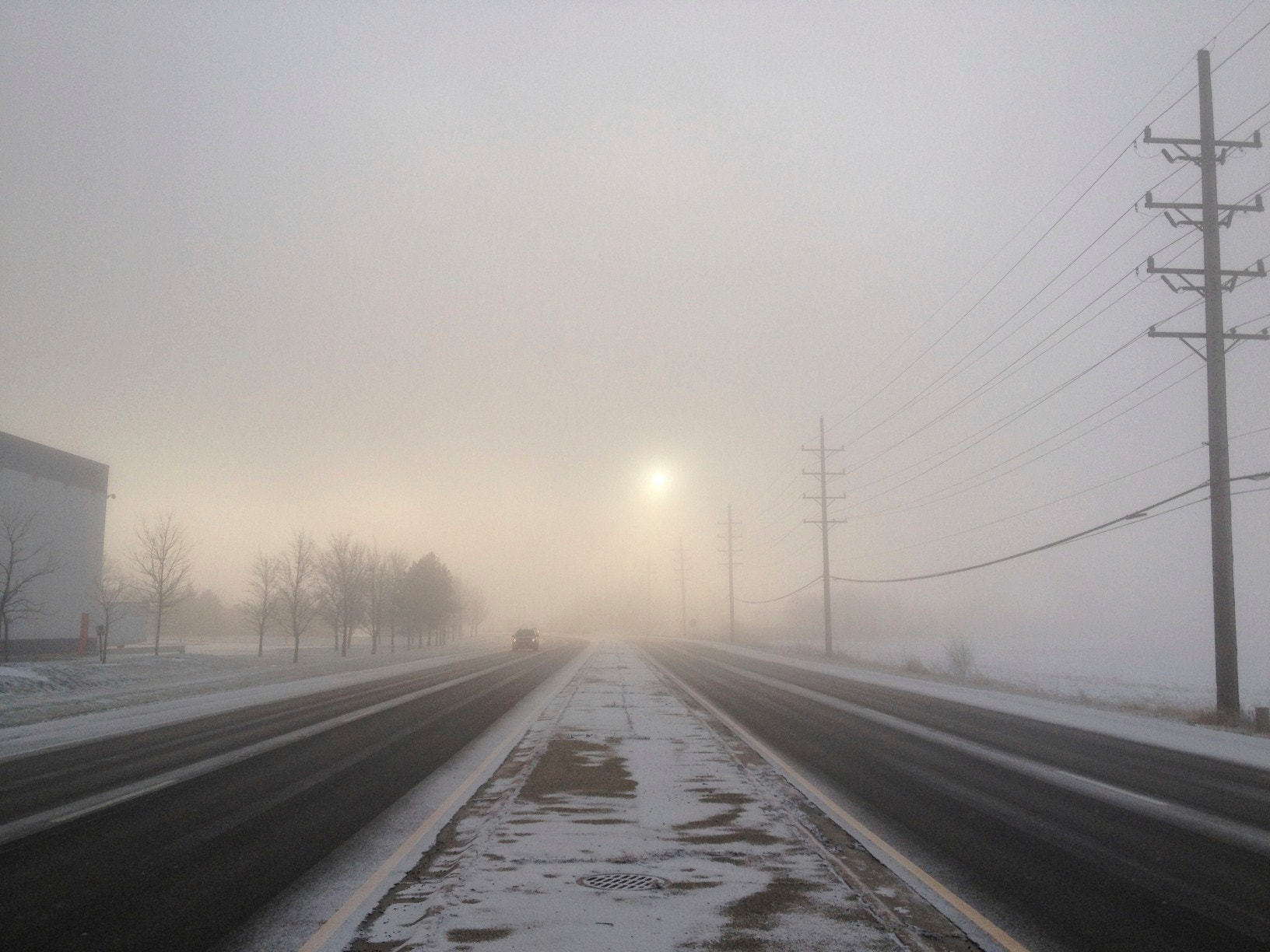 Photograph Winter Fog by James Neville on 500px