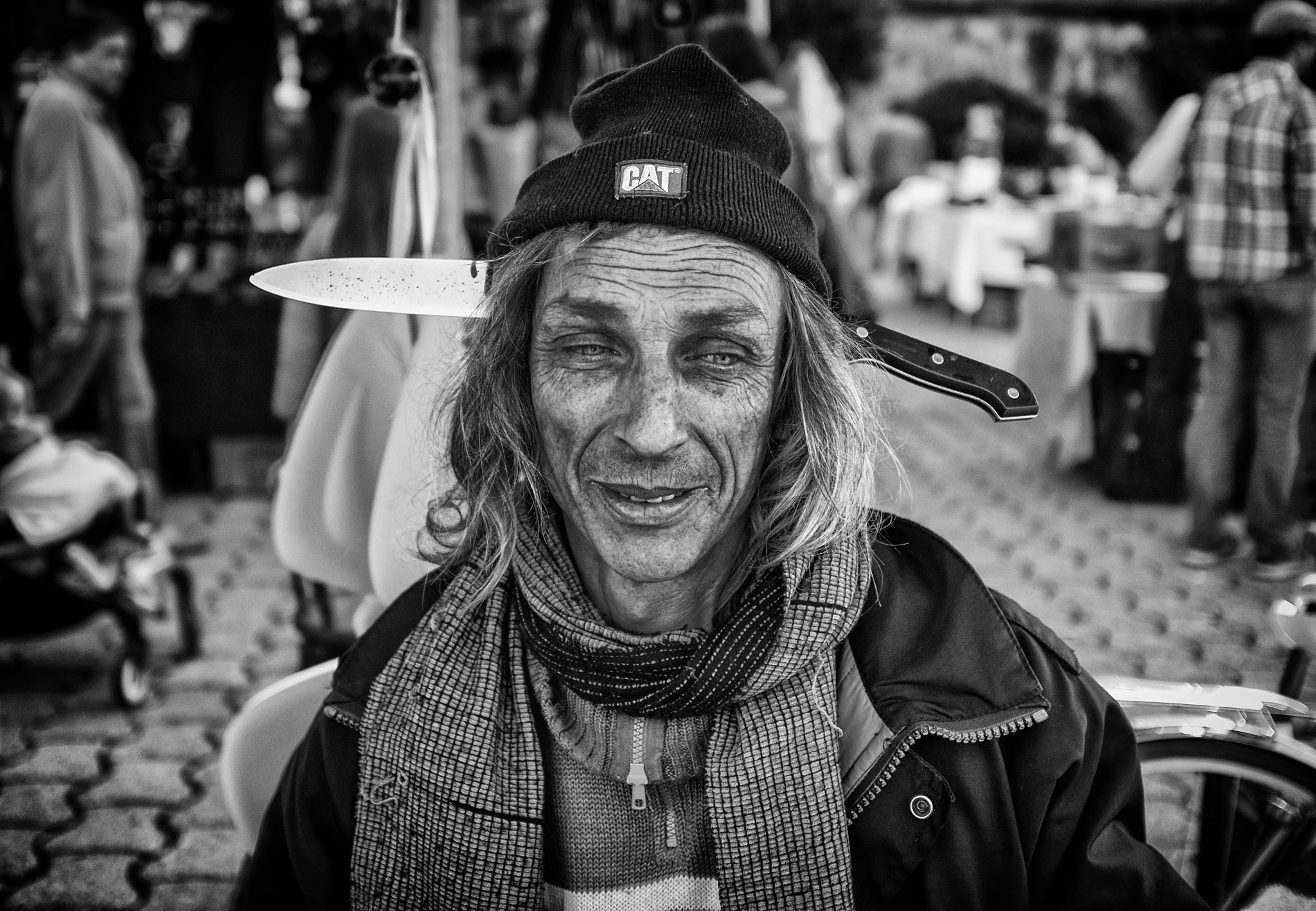 Photograph Walking dead by skamelone on 500px