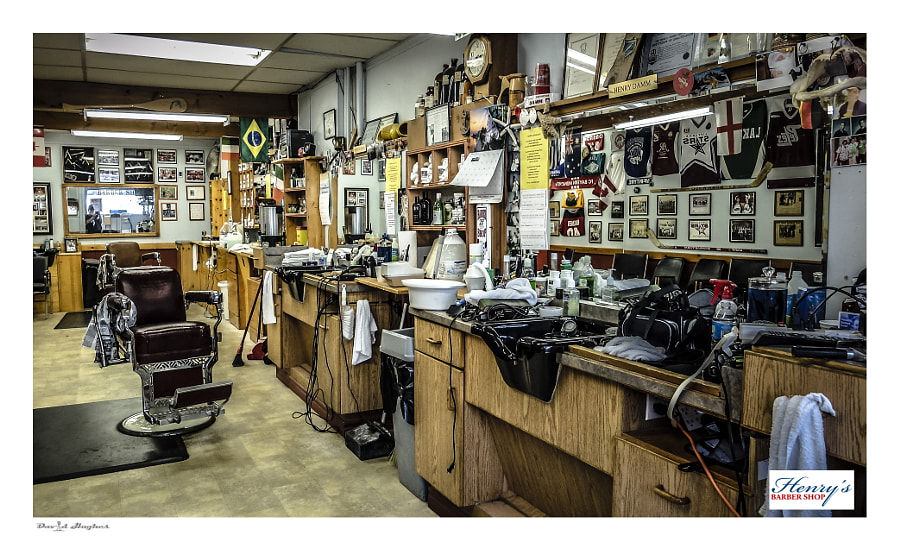 Barber Shop Still Life