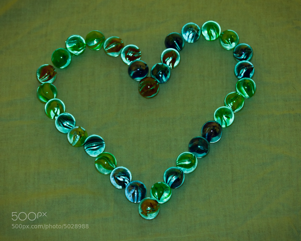 Photograph Marbles Heart! by Punya Pathak on 500px