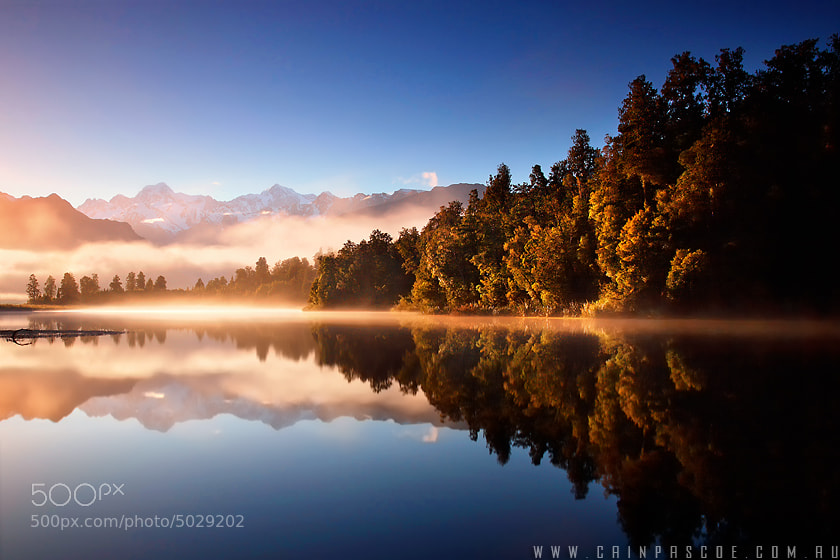 Photograph Lake Matheson by Cain Pascoe on 500px