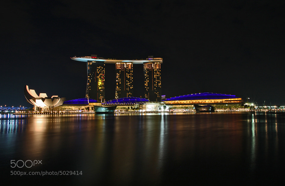 Photograph Marina Bay Sands Hotel by Ata Kemal Sahin on 500px