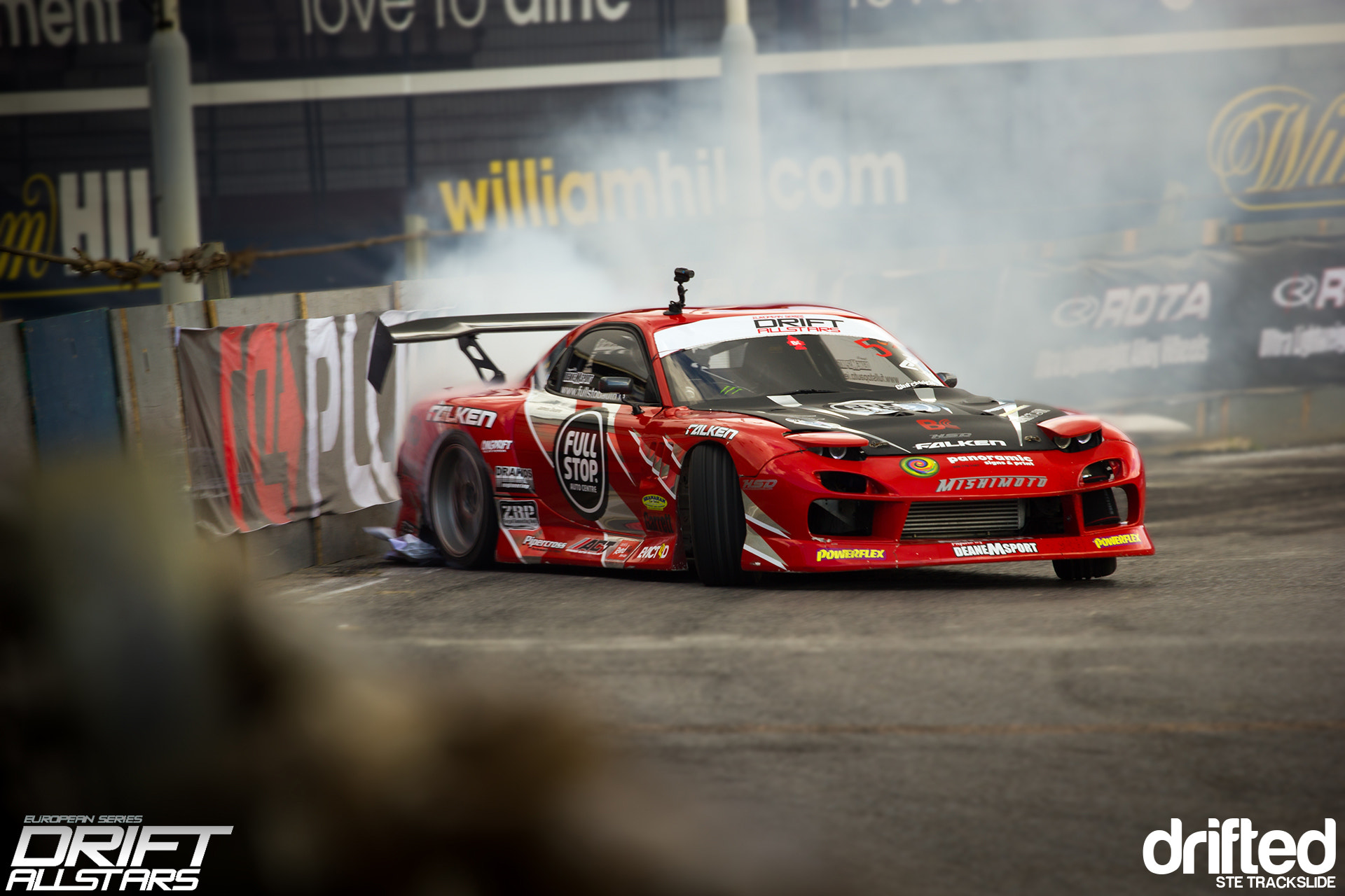 Photograph James Deane RX7 Wallrun 2012... by Ste Trackslide on 500px