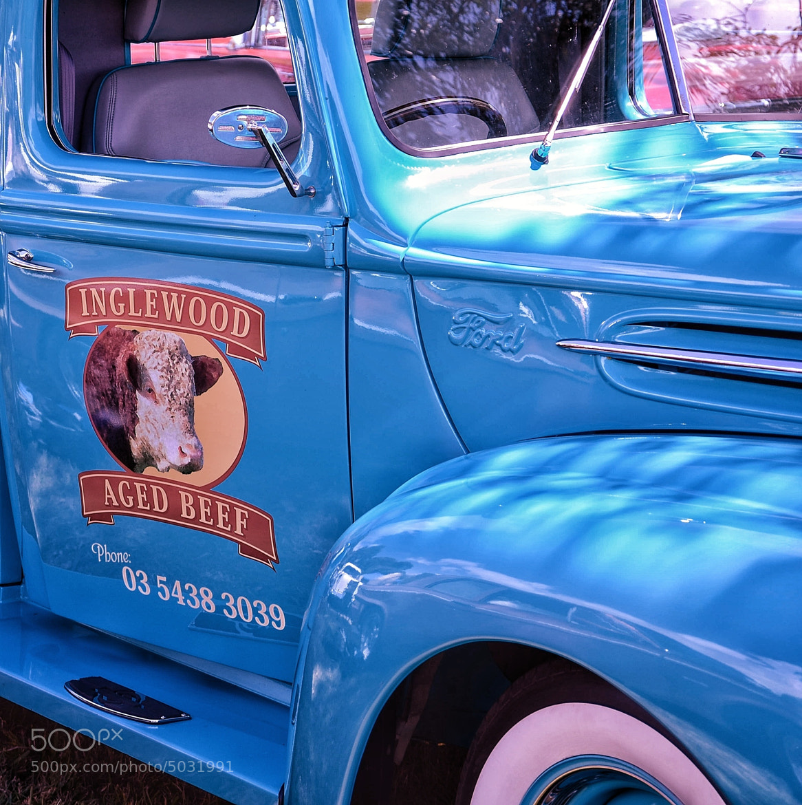 Photograph Ford pick up by Andrea Cataldi on 500px