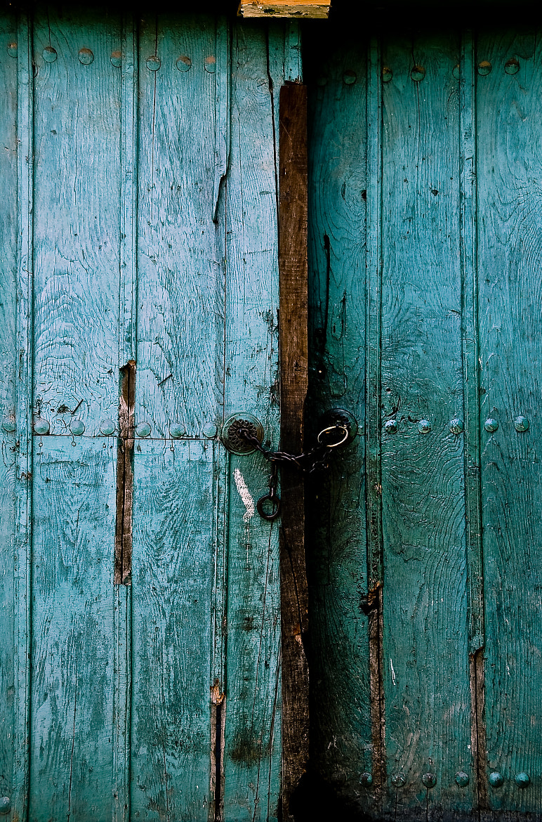 Photograph Turquoise Door by Serhan Altug on 500px