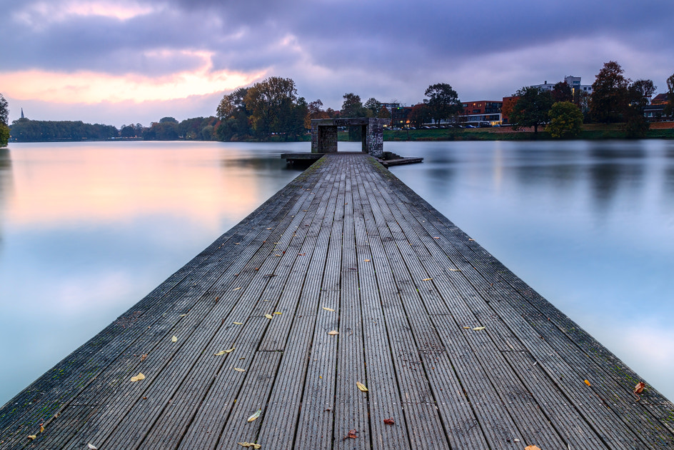 Photograph lakeside pier by M. Lappe on 500px