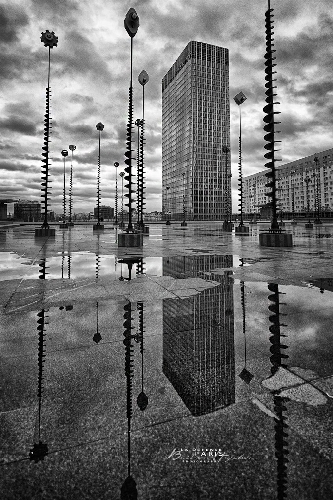 Photograph La defense, Paris by Bastien HAJDUK on 500px