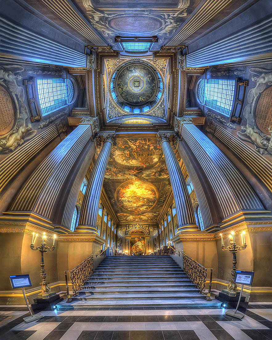 Photograph Painted Hall by Kestas Balciunas on 500px