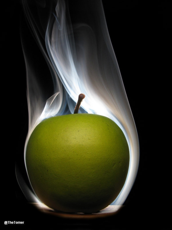 Photograph Smoking apple   by Tomer Jacobson on 500px