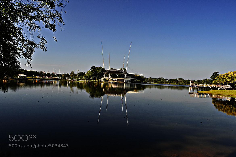 Photograph Cyber Lake by azman zakaria on 500px
