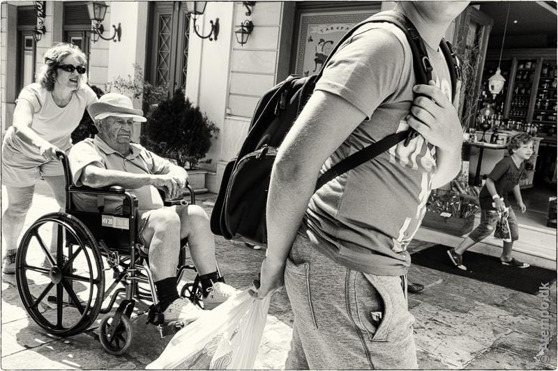 Tourists ... Athens View no. 64