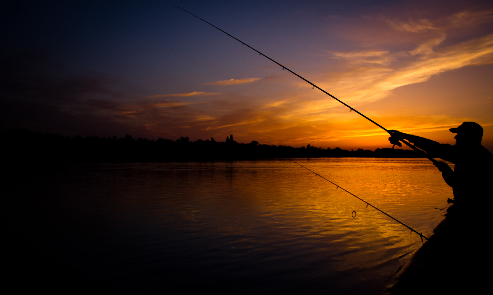 Photograph The night fisher by Gabor Egyed on 500px