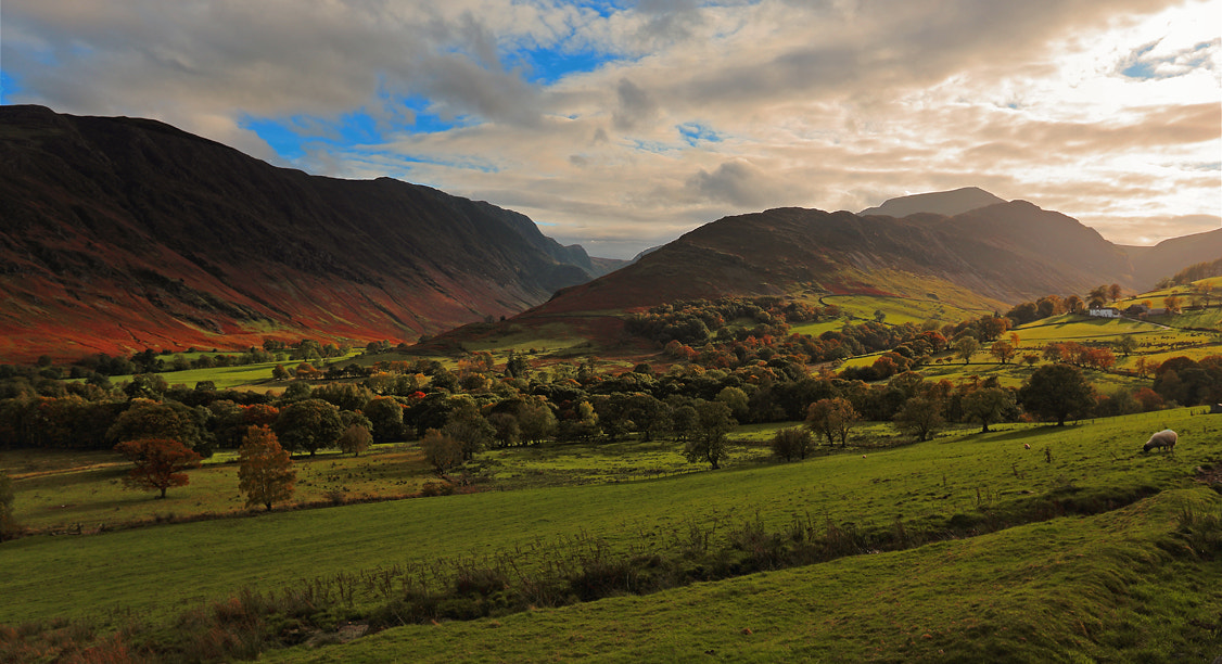 Photograph Newlands Beck Valley, Lake District by Ceri Jones on 500px