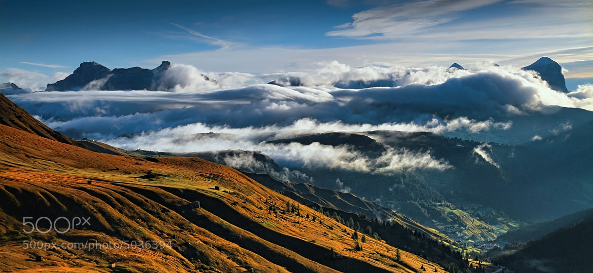 Photograph  Cloud Inversion in the Dolomites by Matej Kovac on 500px