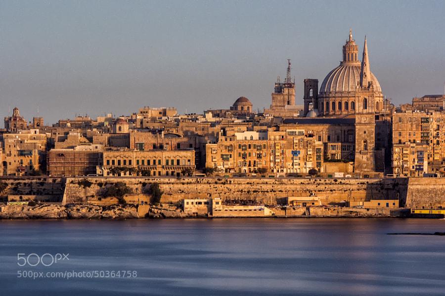 Evening Sun on Valletta