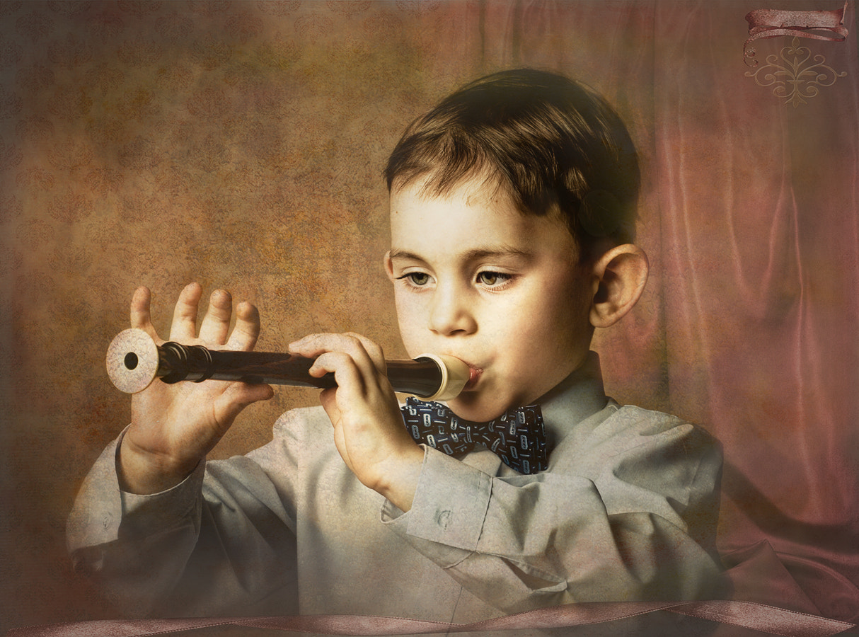 Photograph Young musician by Victoria Yakushkina on 500px