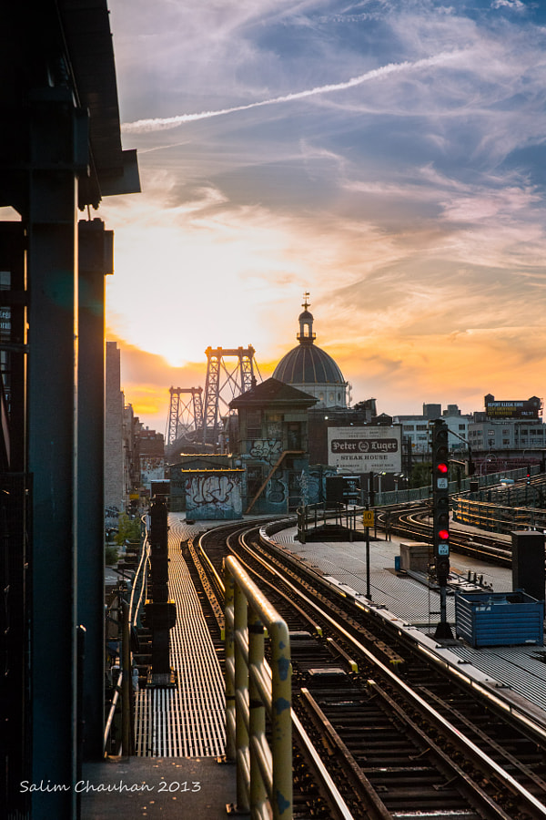 Photograph Sunset over Brooklyn by Salim Chauhan on 500px