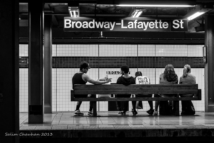 Photograph Broadway by Salim Chauhan on 500px