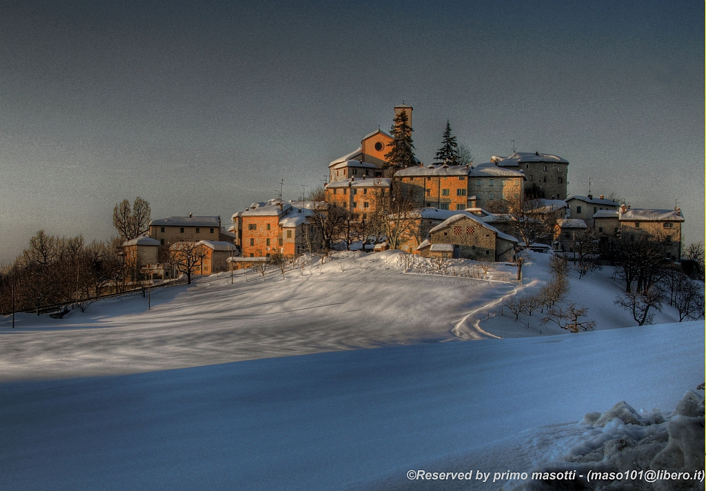 Photograph This is my village Montecorone at sunset, spent an hour ...(zocca modena italy)_0146_DVD 14 by primo masotti on 500px
