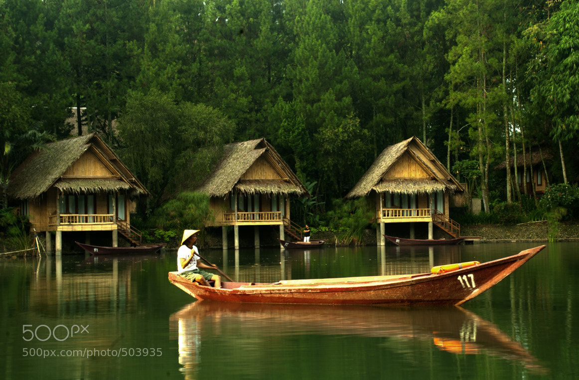 Photograph Mendayung Sampan by Dadan Herdiana on 500px