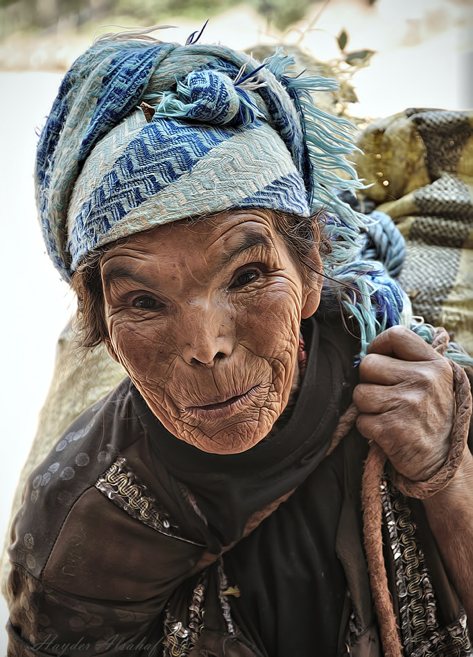Photograph Moroccan mountain woman by Hayder Alsahaf on 500px