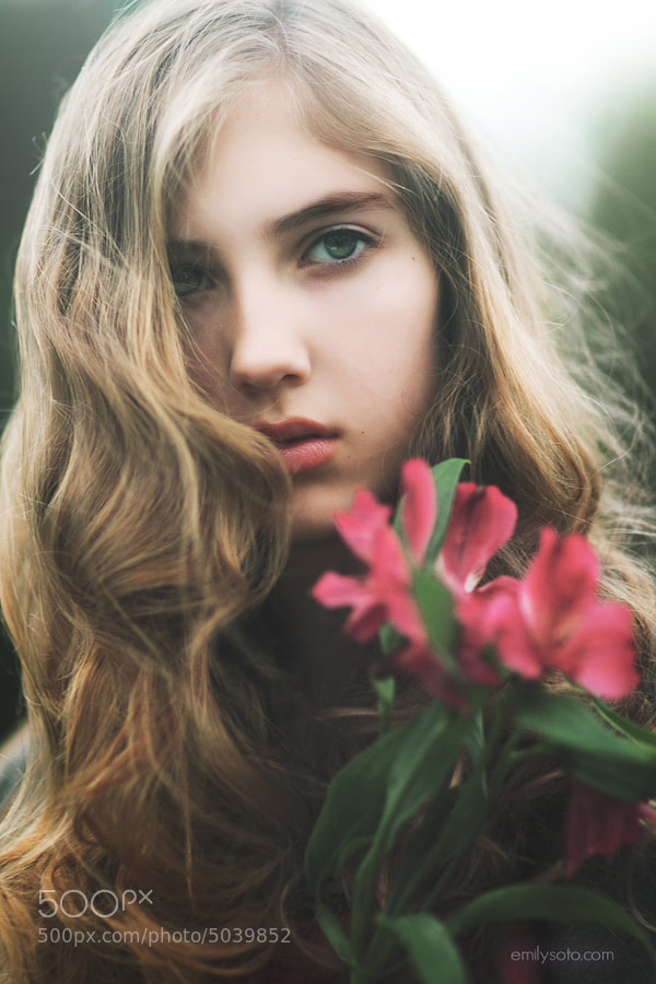 Photograph Julia by Emily  Soto on 500px