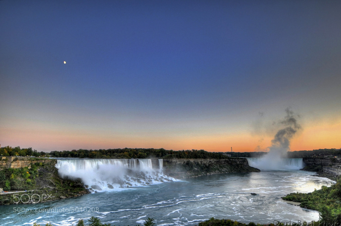 Photograph Sunrise on Niagara Falls by Dario Bosi on 500px