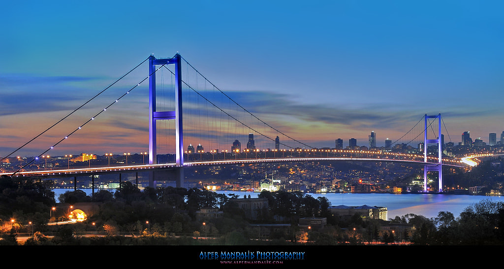 Photograph Bosphorus Bridge by Alper Mandalik on 500px