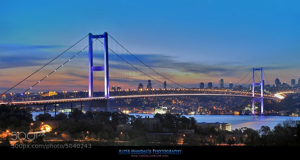 Photograph Bosphorus Bridge by Alper Mandalik on 500px