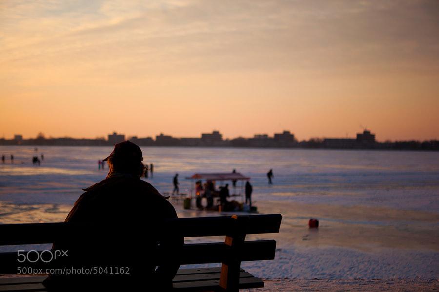Photograph Watching the sunset by Sebastiaan van Daalen on 500px