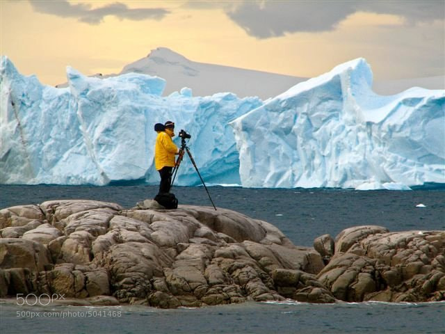 Photograph On Location in Antarctica by Dean Tatooles on 500px