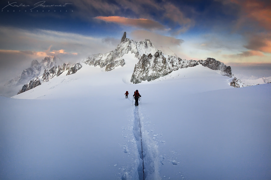 Photograph Reaching the Ice Fortress by Xavier Jamonet on 500px